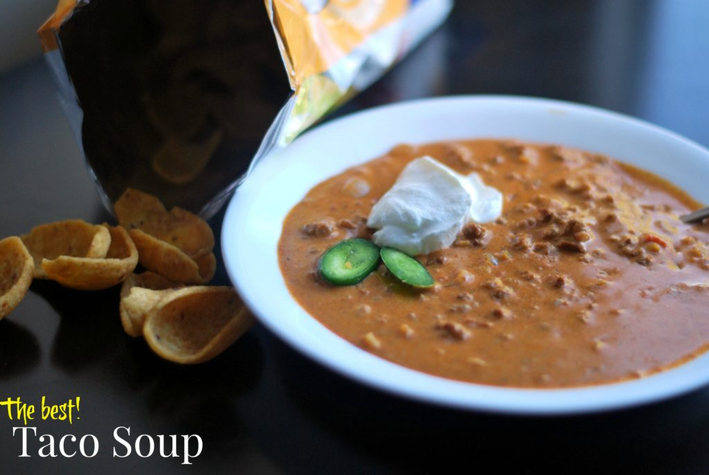 The Best Taco Soup | Aunt Bee's Recipes