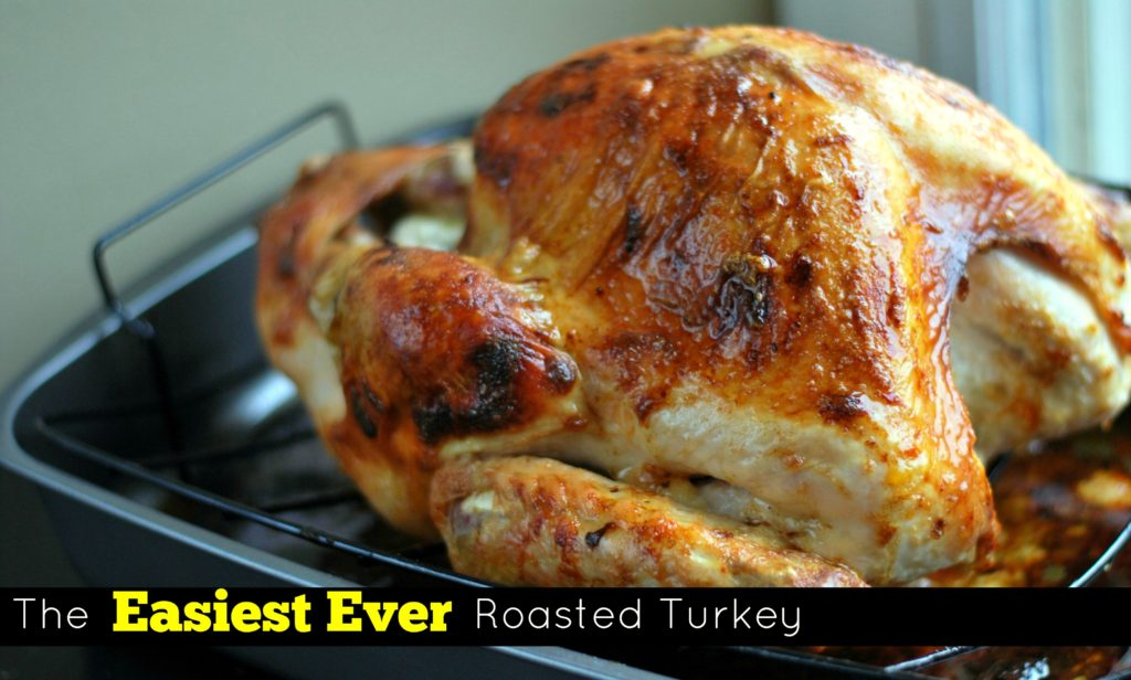 The Easiest Ever Roasted Turkey | Aunt Bee's Recipes