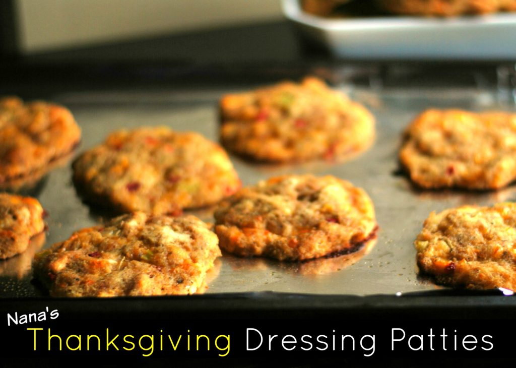 Nana's Thanksgiving Dressing Patties | Aunt Bee's Recipes