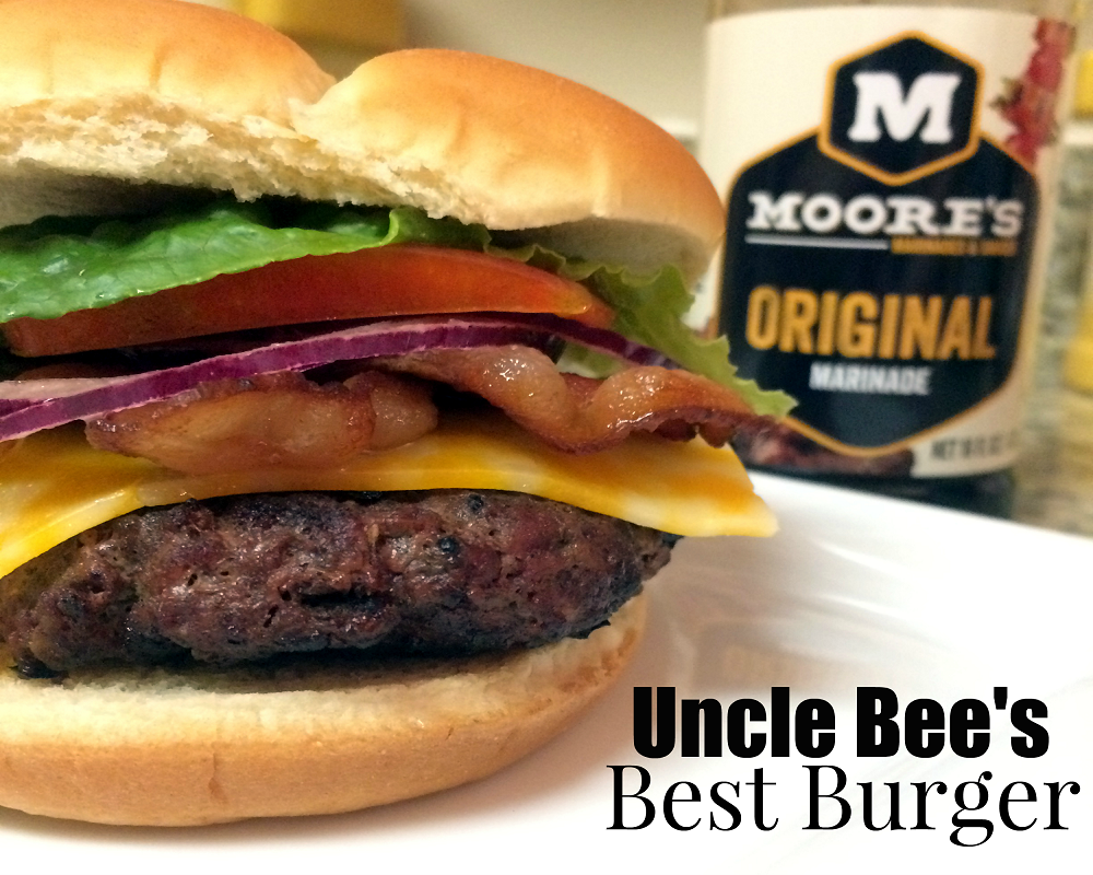 Uncle Bee's Best Burger | Aunt Bee's Recipes
