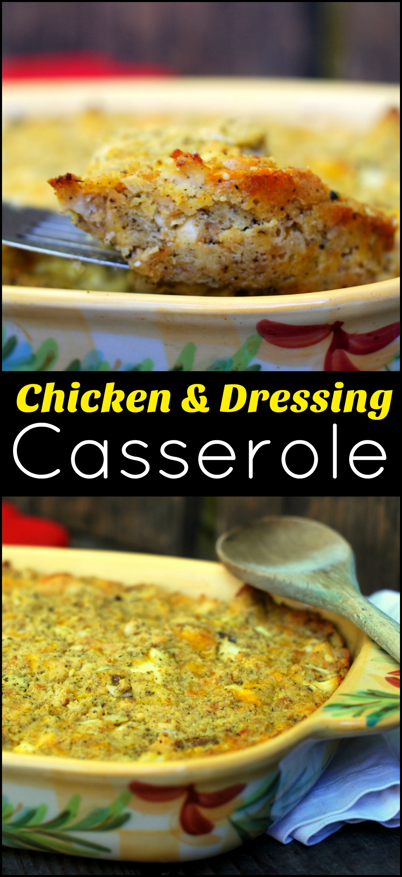 Chicken Amp Dressing Casserole Aunt Bee S Recipes