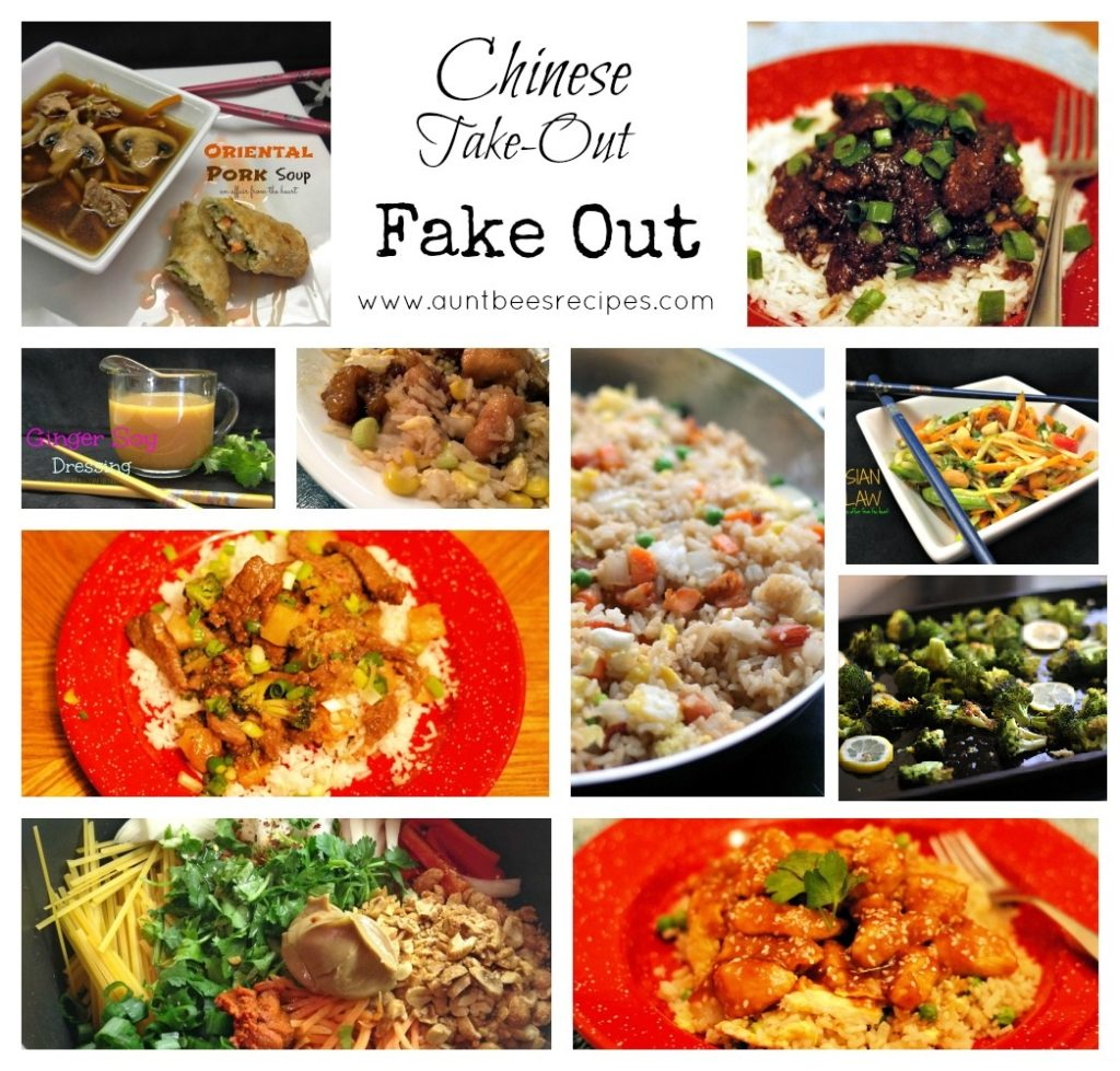 Chinese Take Out Fake Out