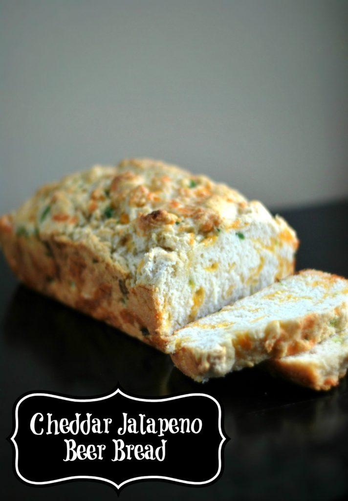 Cheesy Jalapeno Beer Bread | Aunt Bee's Recipes