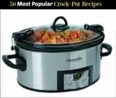 50 most popular crock pot recipes | Aunt Bee's Recipes