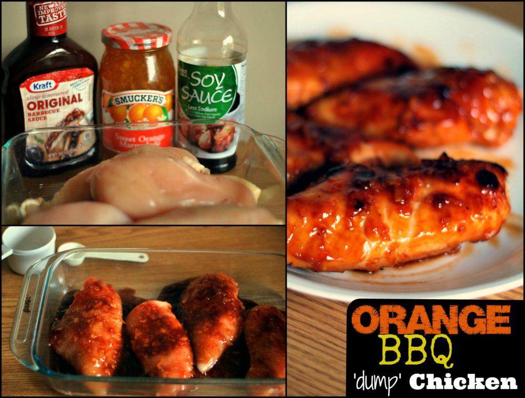 Orange BBQ Dump Chicken   Aunt Bee's Recipes