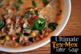 {Ultimate} Tex-Mex Tater Soup | Aunt Bee's Recipes