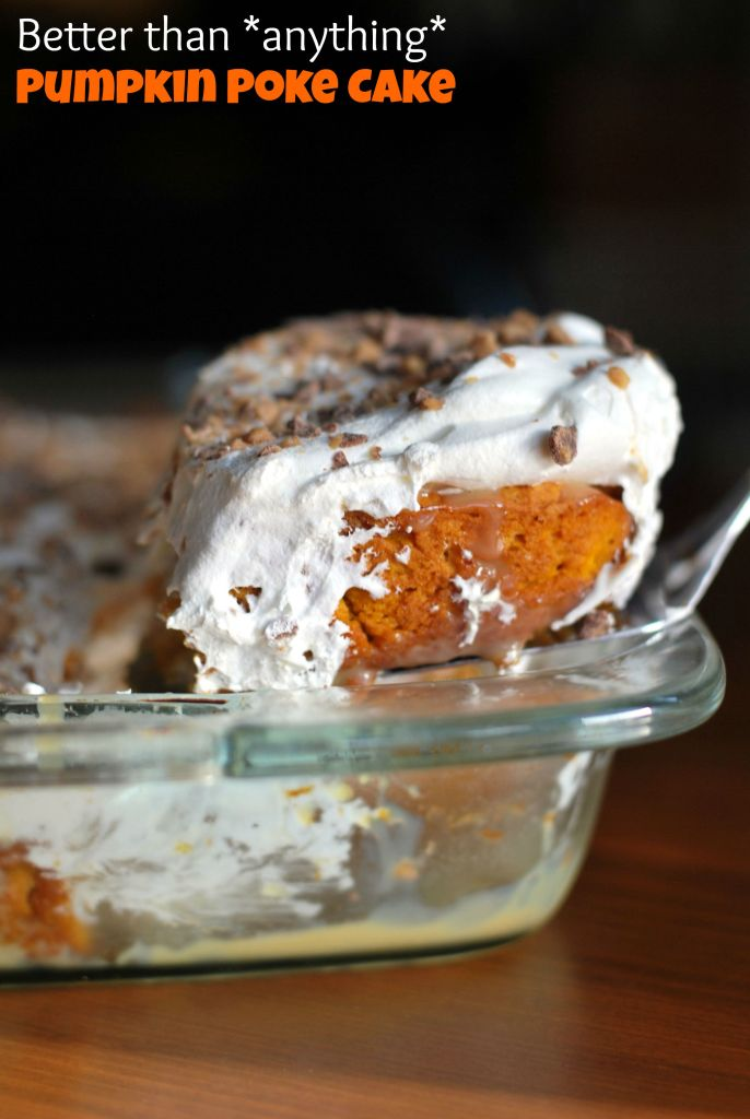 Recipe For Pumpkin Better Than Anything Cake