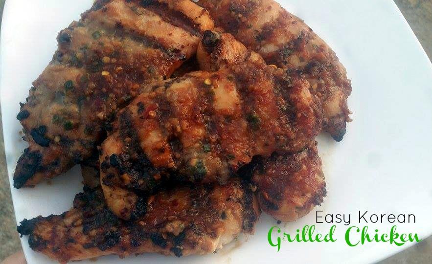 Easy Korean Grilled Chicken