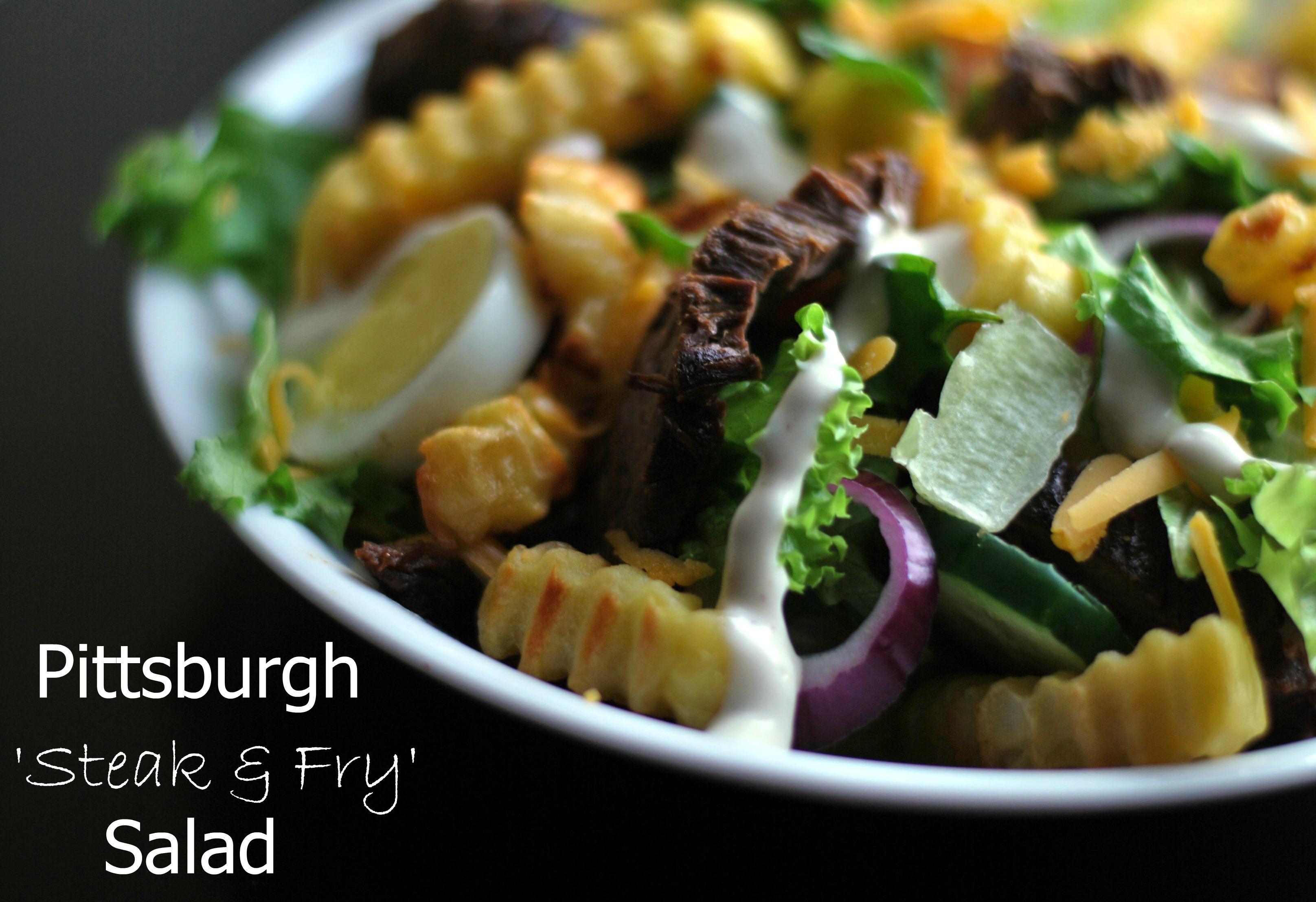 Pittsburgh 'Steak & Fry' Salad