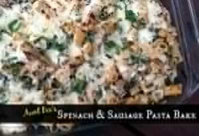 Spinach & Sausage Pasta Bake | Aunt Bee's Recipes