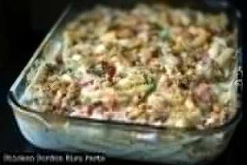 Chicken Cordon Bleu Pasta | Aunt Bee's Recipes