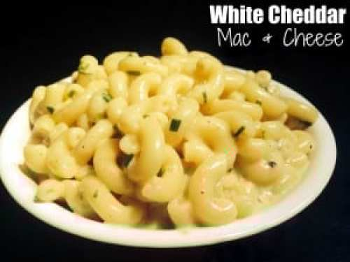White Cheddar Mac & Cheese | Aunt Bee's Recipes