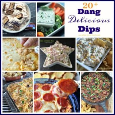 Southwestern Refried Dip   Aunt Bee's Recipes