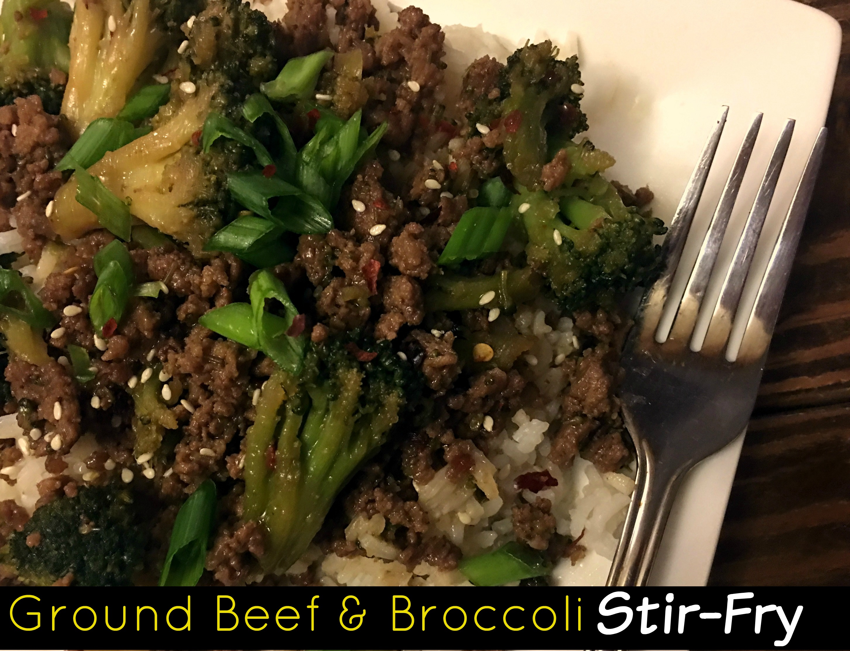 Ground Beef & Broccoli Stir-Fry