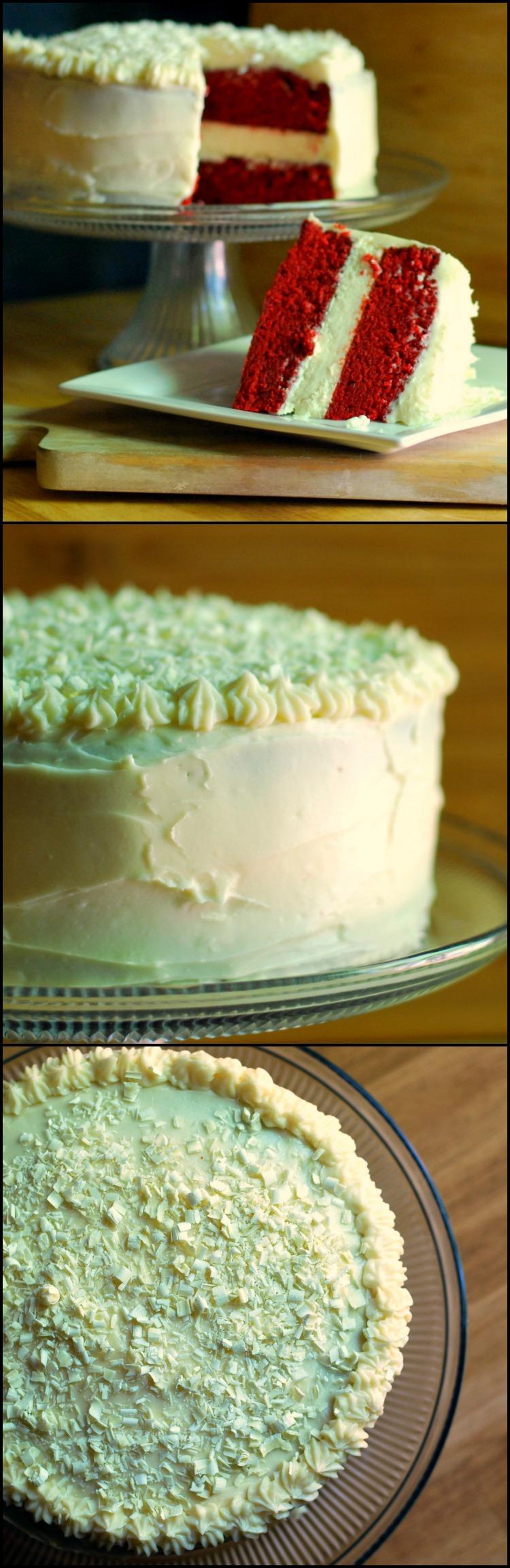 Red Velvet Cheesecake Cake  | Aunt Bee's Recipes