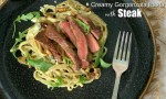 Creamy Gorgonzola Pasta with Steak