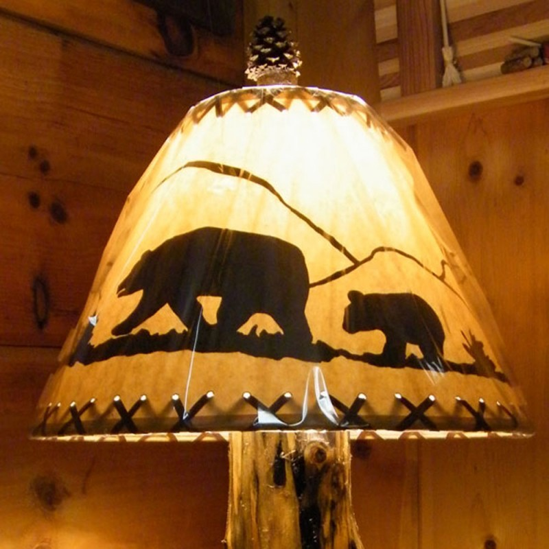 Black Bear Lamp Shade