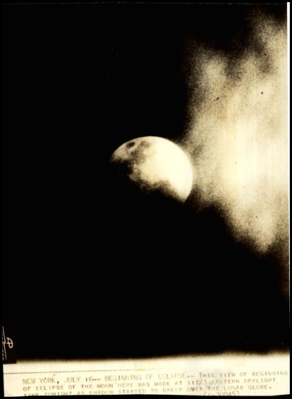 Lunar Eclipse, July 16, 1935