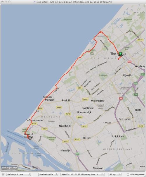 Den Haag to Hoek van Holland