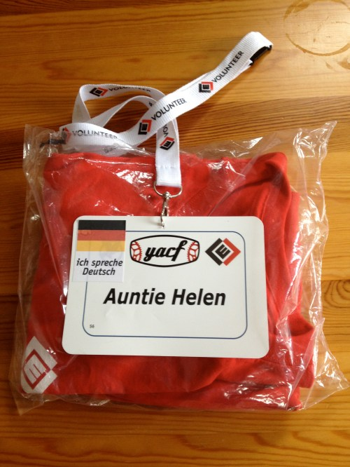 Auntie Helen name tag