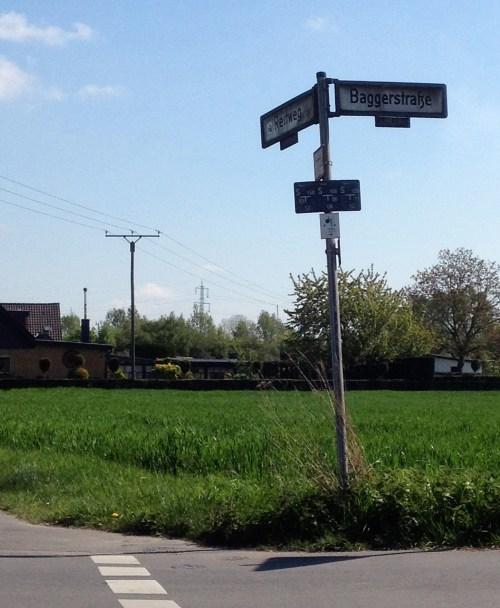 Baggerstraße