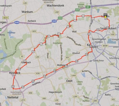 CIKV 21 April Track