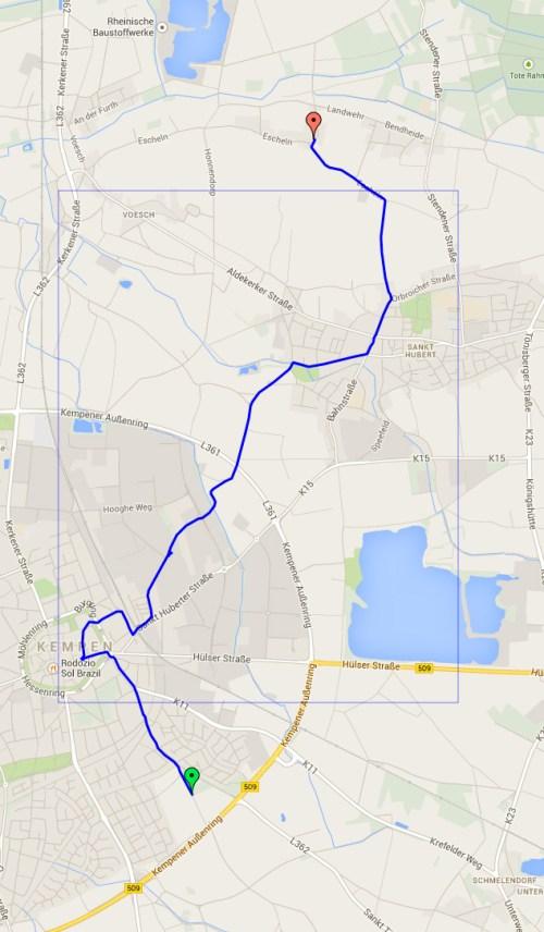 Track to Kreuzkapelle