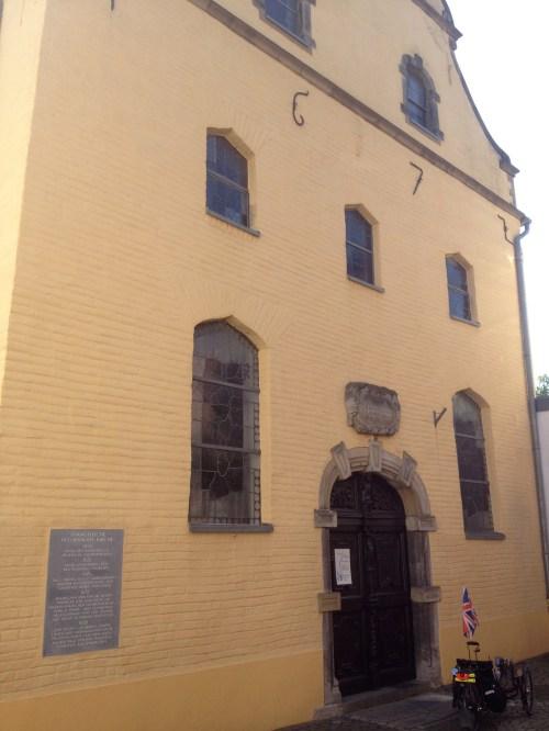 Kaldenkirchen Evangelische Kirche front facade