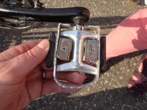 Klaus's magnetic pedals