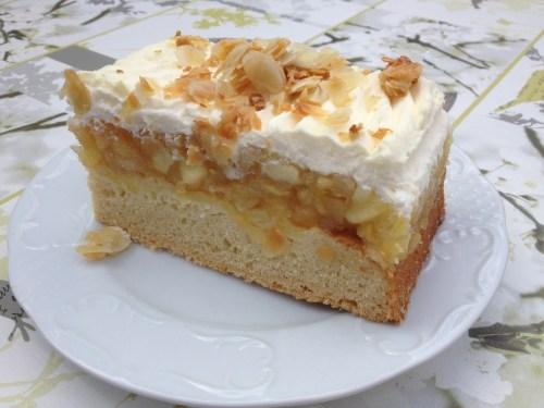 Very large slice of cake