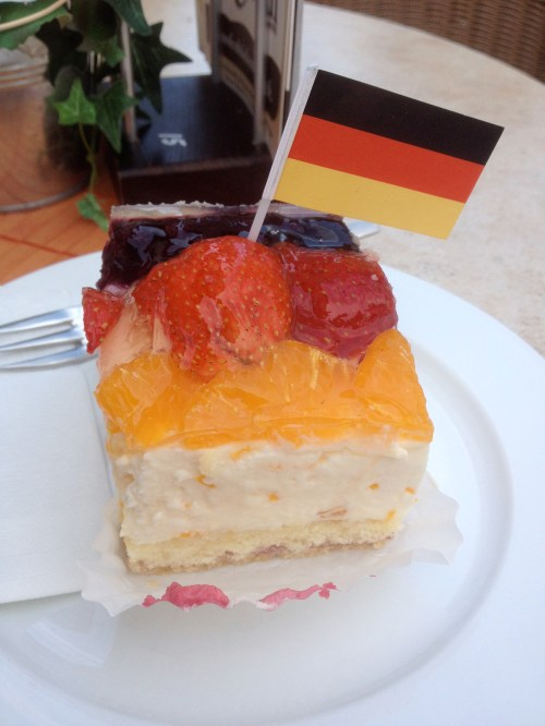 World Cup German Cake