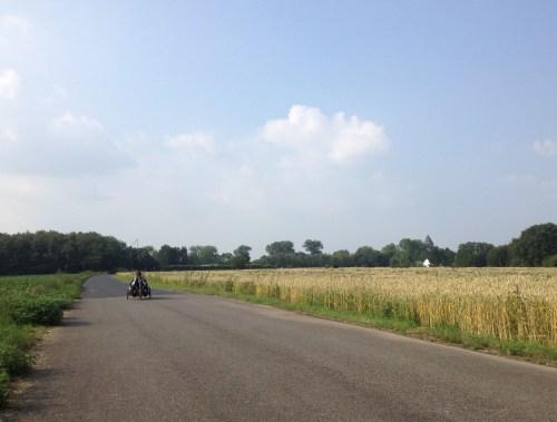 Approaching Burg Linn