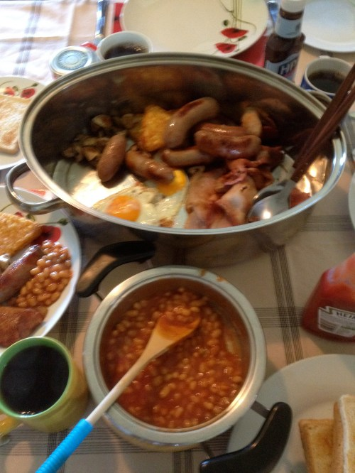 Full English in St Hubert