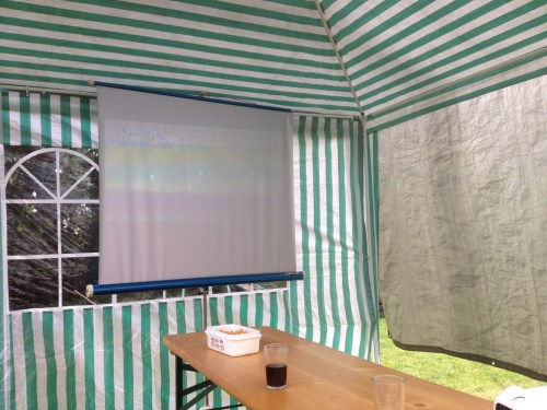 Outdoor Football Viewing 1