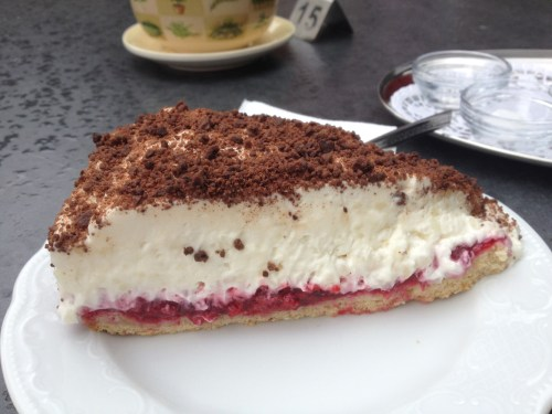Rice Cream Cake
