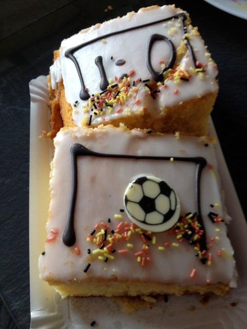 World Cup Final Cake