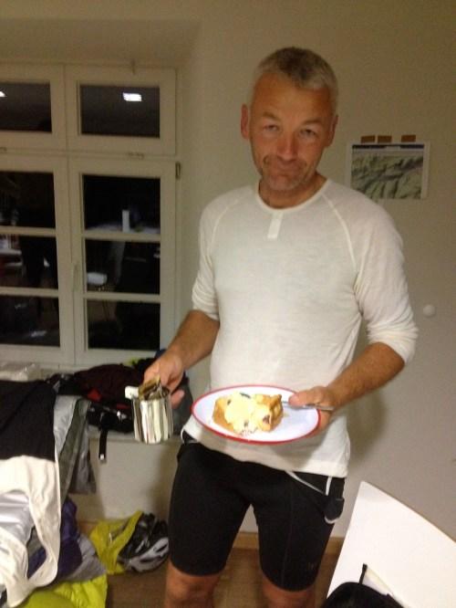 Adam and cake