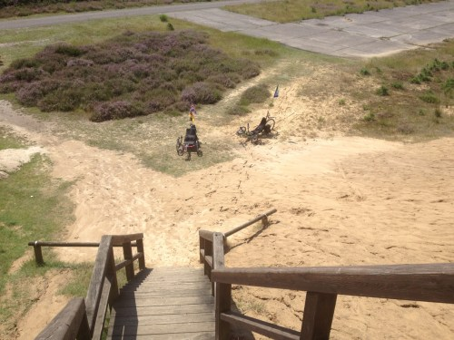 Trikes at the viewpoint