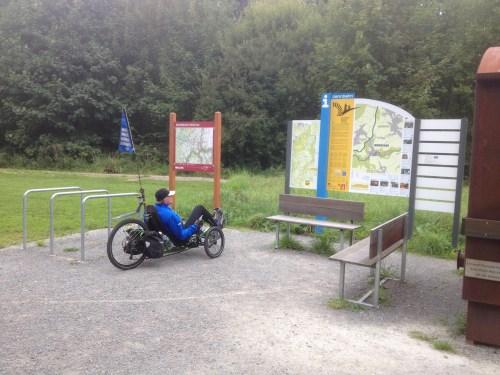 Monschau info board