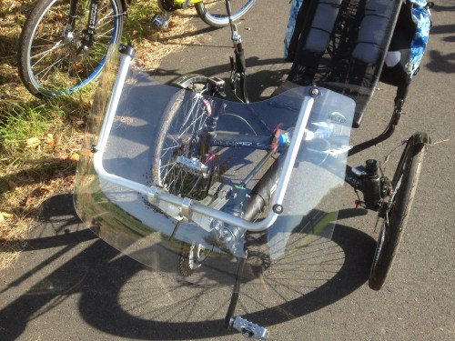 Azub trike with Veltop