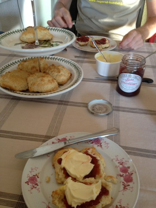 Scones with Morten