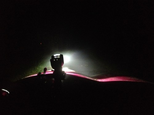P in the dark