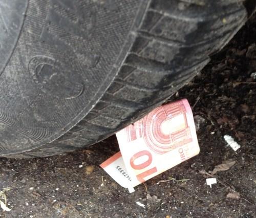 Under my car wheel 2