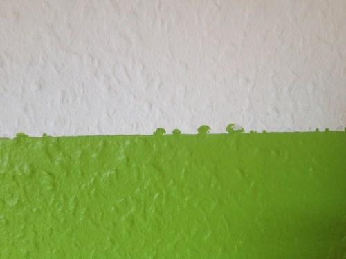 Blobby green rectangle