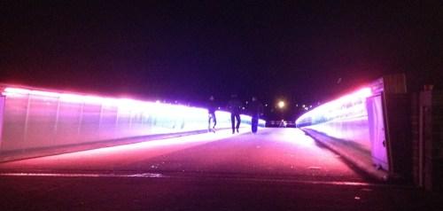 Crossing the cool bridge