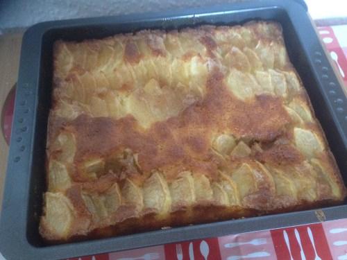 Home-made Dutch Apple Cake