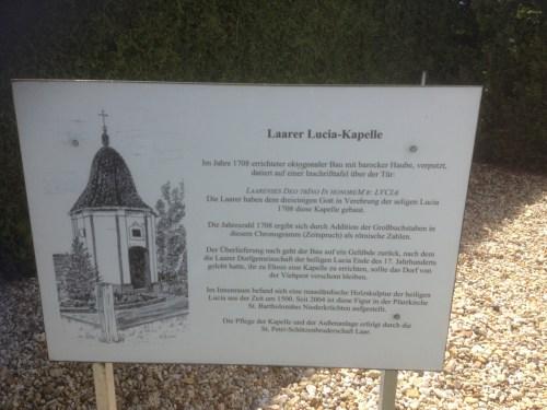 Laar Lucia Kapelle Info
