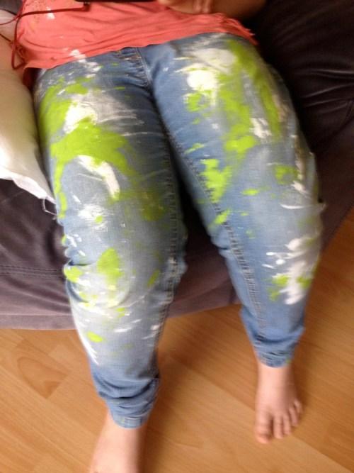 Lara's legs