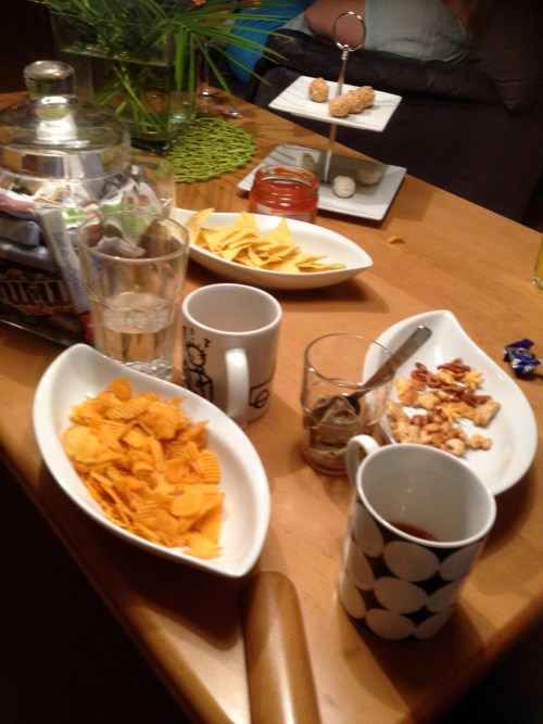 Eurovision Snacks after