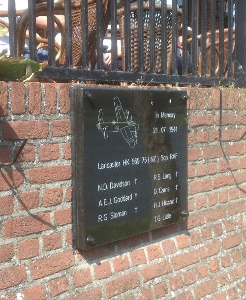 Lancaster plaque